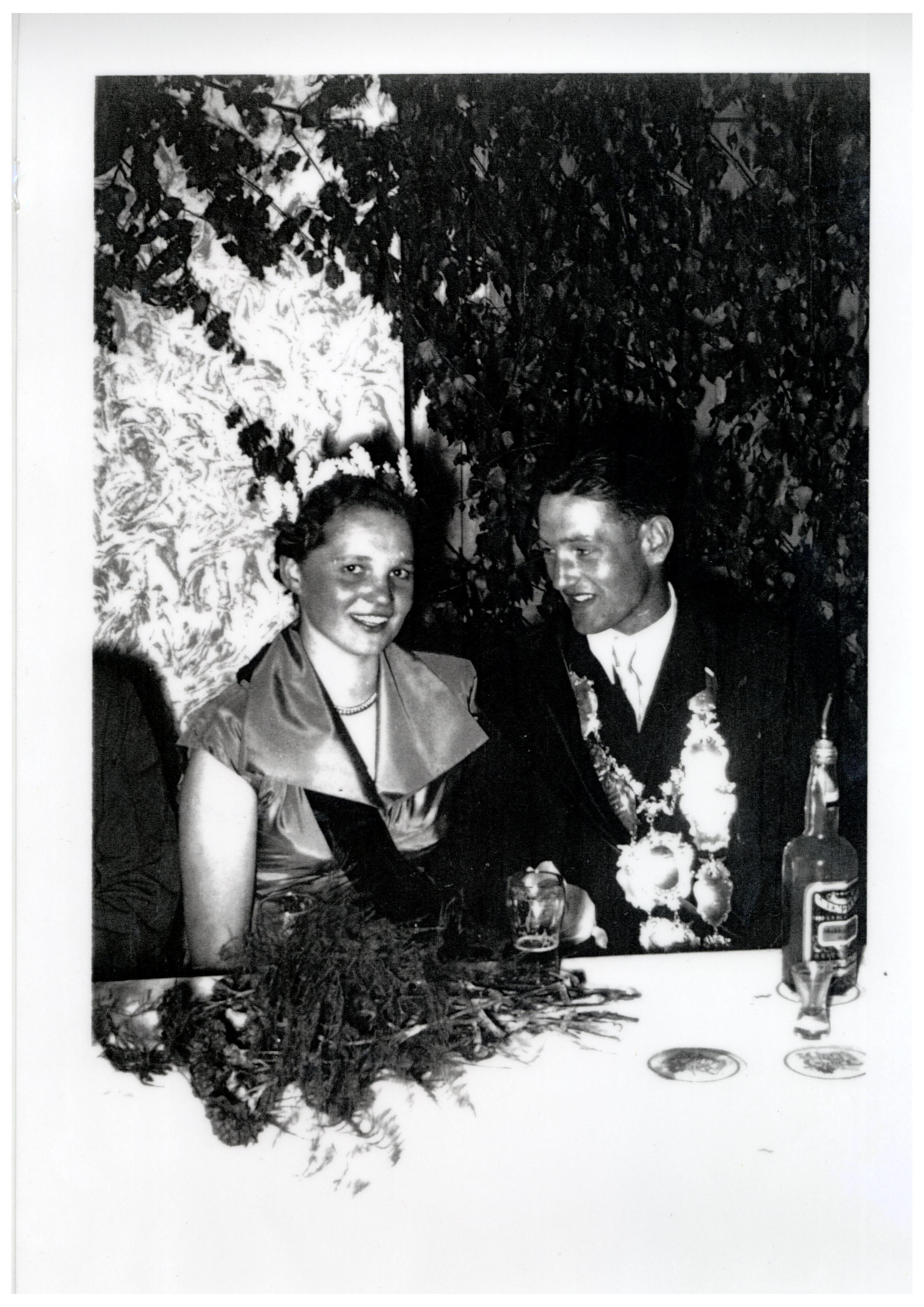 1954 - Josef Geuting und Irene Anwater
