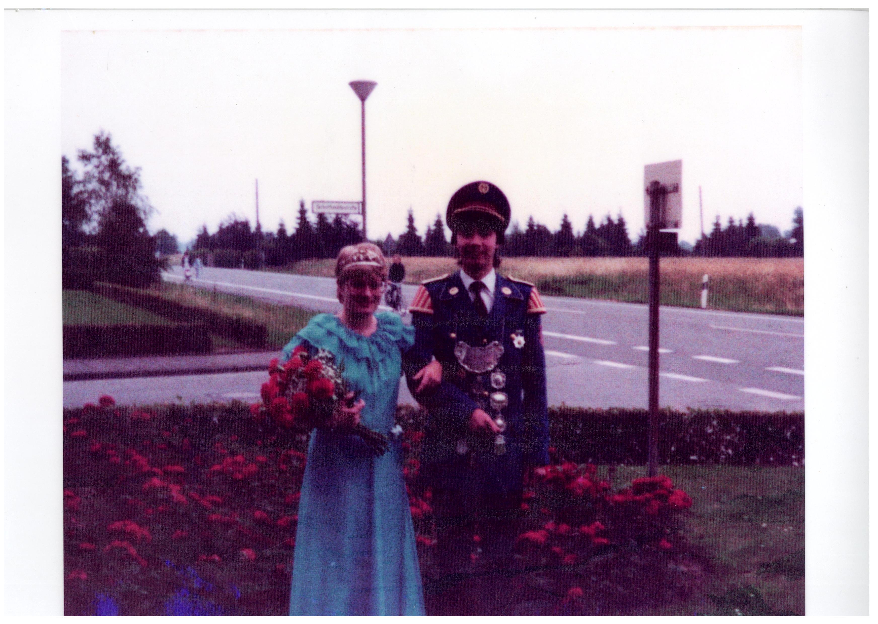 1982 - Roland Groß-Holtick und Annegret Klein-Schmeink