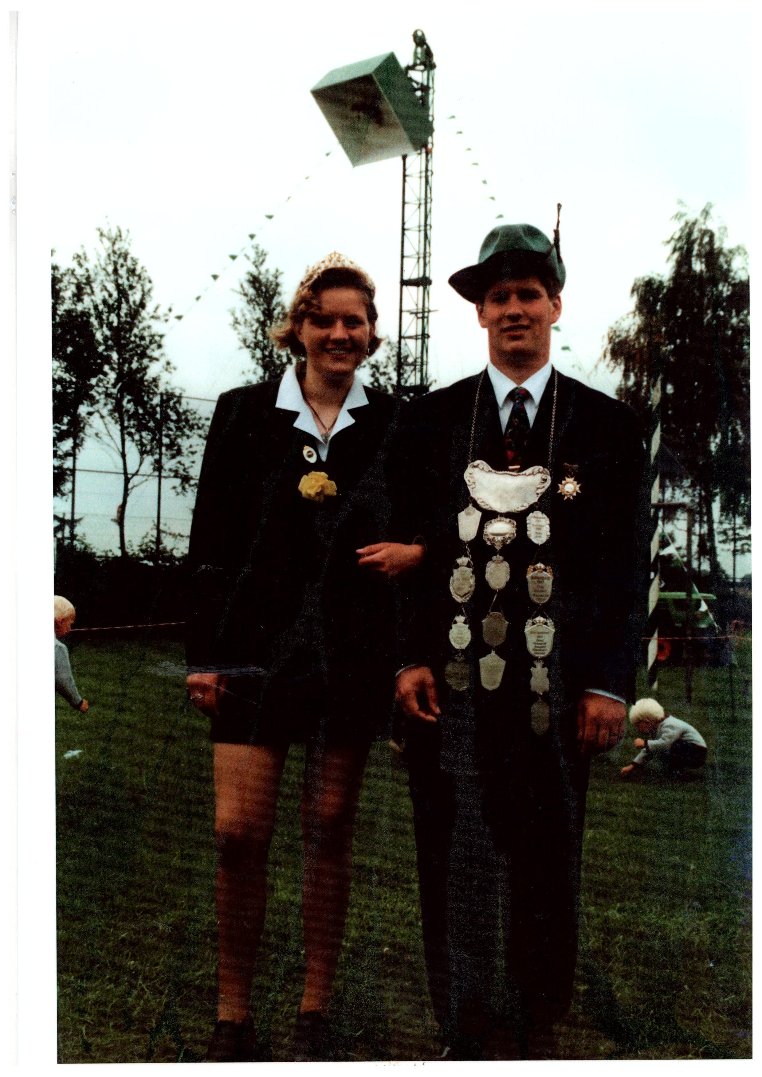 1996 - Andrea Schmeing und Christian Palte