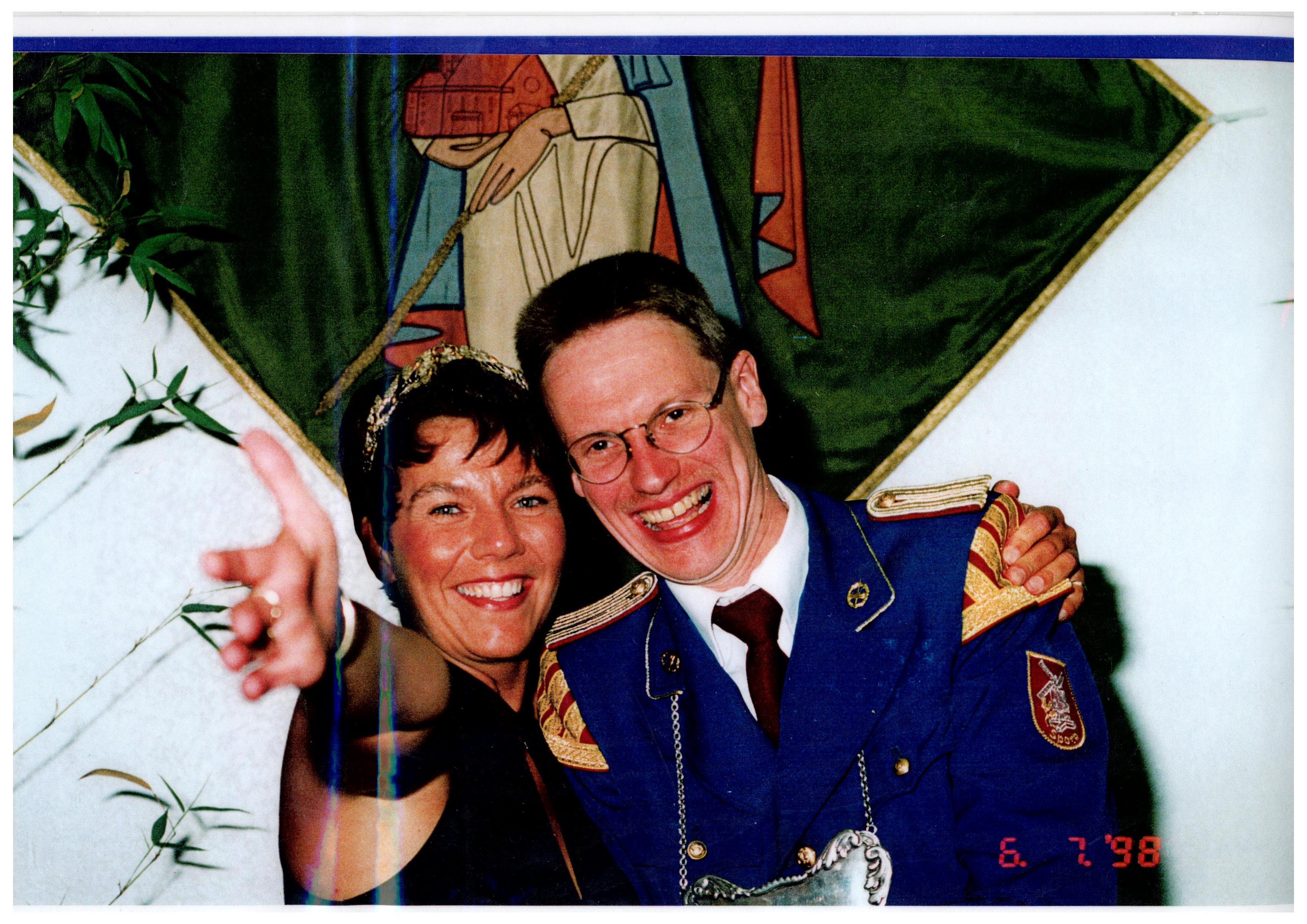 1998 - Berthold Willing und Claudia Schwinning